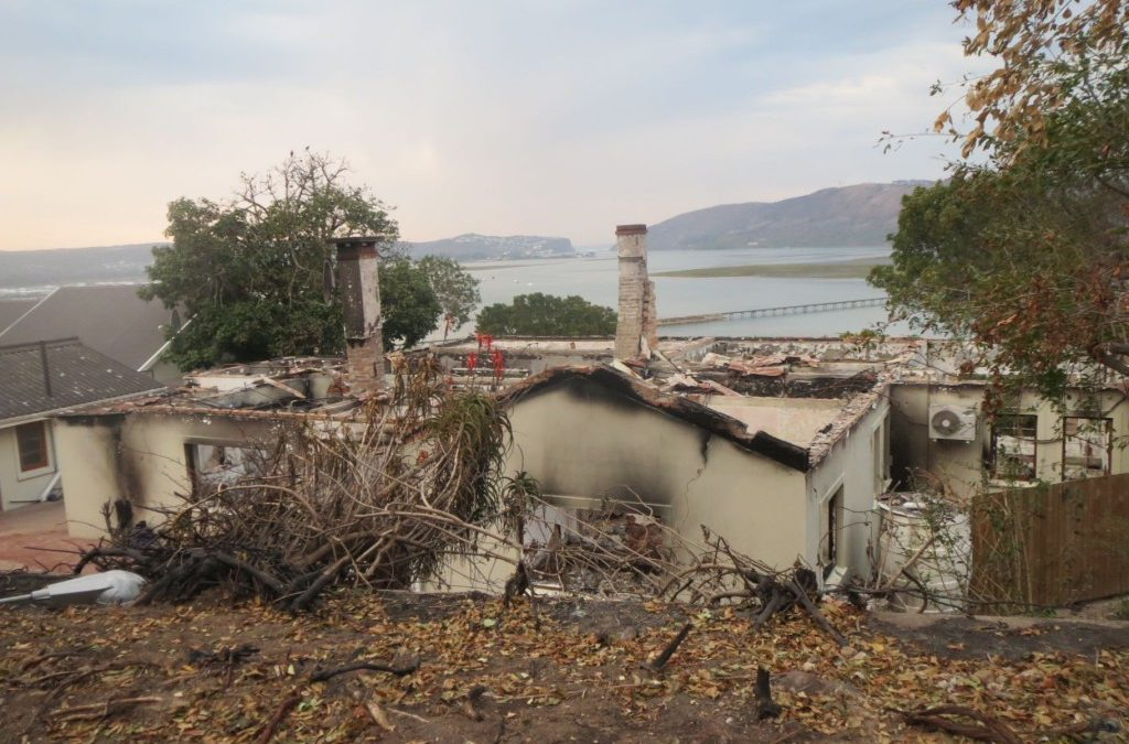Knysna wildfire – alarming herald of the inferno to come