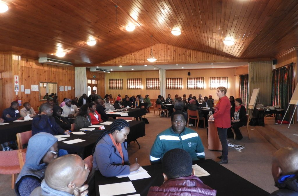 Excitement builds as we gather for our much anticipated FireWise communities workshop in Worcester, Western Cape